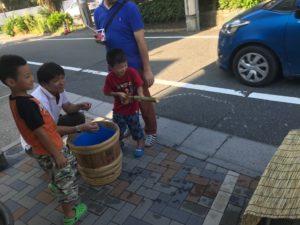 竹工作水鉄砲